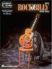 Cover of: Great Rockabilly Guitar Solos (692820) | Hal Leonard Corp.