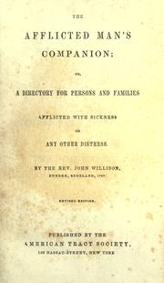 The afflicted man's companion by John Willison