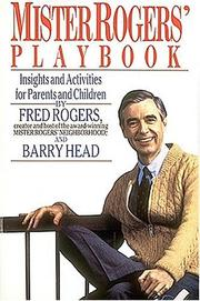 Cover of: Mister Rogers' playbook