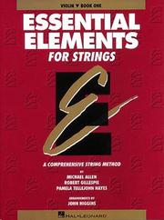 Cover of: Essential Elements for Strings | Michael Allen