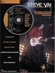 Cover of: Steve Vai - Guitar Styles and Techniques (Signature Licks)