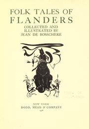 Folk tales of Flanders