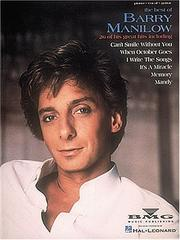 Cover of: The Best Of Barry Manilow