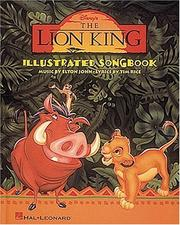 Cover of: The Lion King Illustrated Songbook