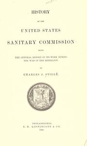 Cover of: History of the United States sanitary commission