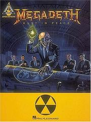 Cover of: Megadeth - Rust in Peace*