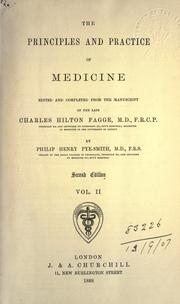 Cover of: The principles and practice of medicine