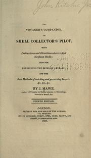 Cover of: The voyager's companion, or shell collector's pilot