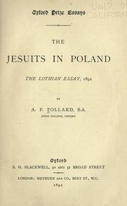 Cover of: The Jesuits in Poland