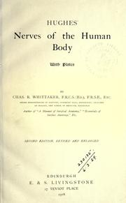 Cover of: Nerves of the human body