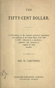 Cover of: The fifty-cent dollar