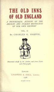 Cover of: The old inns of old England | Harper, Charles G.