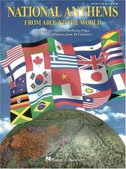 Cover of: National Anthems from Around the World | Hal Leonard Corp.