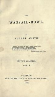 Cover of: The wassail-bowl