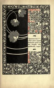 Fringilla, or, Tales in verse