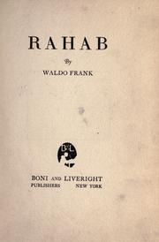 Cover of: Rahab