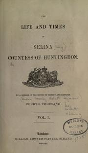 The life and times of Selina by Aaron Crossley Hobart Seymour