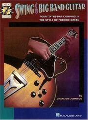 Cover of: Swing and Big Band Guitar | Charlton Johnson