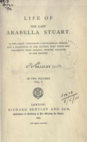 Cover of: Life of the Lady Arabella Stuart