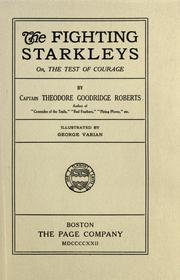Cover of: The fighting starkleys, or, The test of courage