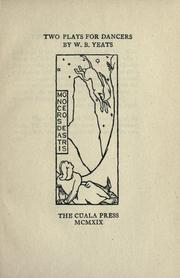 Cover of: Two plays for dancers