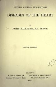 Cover of: Diseases of the heart