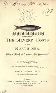 Cover of: The silvery hosts of the North Sea