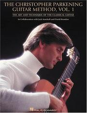 Cover of: The Christopher Parkening guitar method |