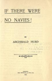 Cover of: If there were no navies!