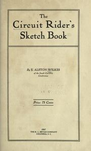 Cover of: The circuit rider's sketch book