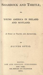 Cover of: Shamrock and thistle