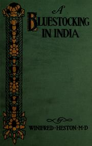 Cover of: A bluestocking in India