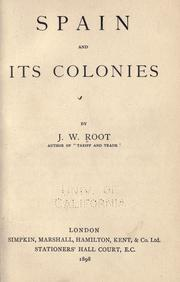 Cover of: Spain and its colonies