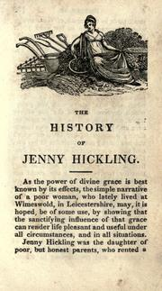 Cover of: The history of Jenny Hickling |