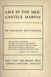 Cover of: Life in the mercantile marine