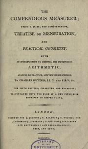 Cover of: The compendious measurer