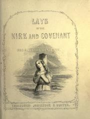 Cover of: Lays of the Kirk and covenant