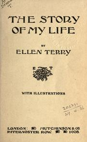 Cover of: The story of my life. | Terry, Ellen Dame