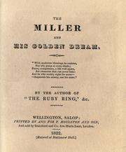 Cover of: The miller and his golden dream ..