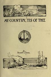 Cover of: My country, 'tis of thee