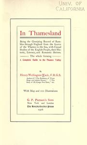 Cover of: In Thamseland