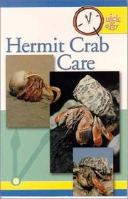 Cover of: Hermit crab care. |