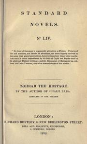 Cover of: Zohrab, the hostage