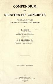Cover of: Compendium of reinforced concrete