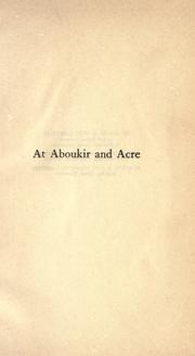 At Aboukir and Acre by G. A. Henty
