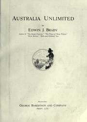 Cover of: Australia unlimited
