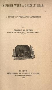 Cover of: A fight with a grizzly bear