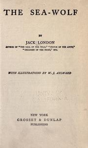 Cover of: The sea-wolf by Jack London