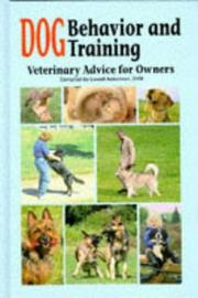 Cover of: Dog behavior and training