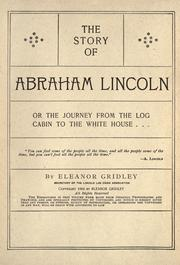 Cover of: The story of Abraham Lincoln